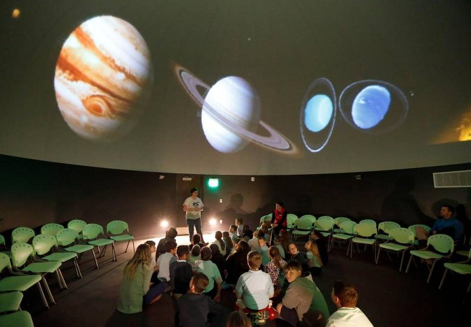 Herald Leader Photo Of Planetarium