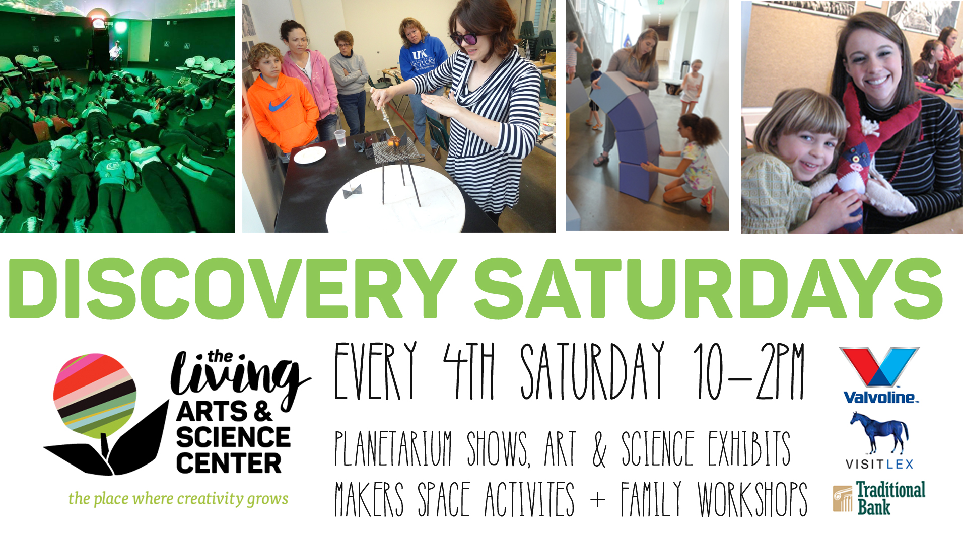 Discovery Saturday + Family Workshops