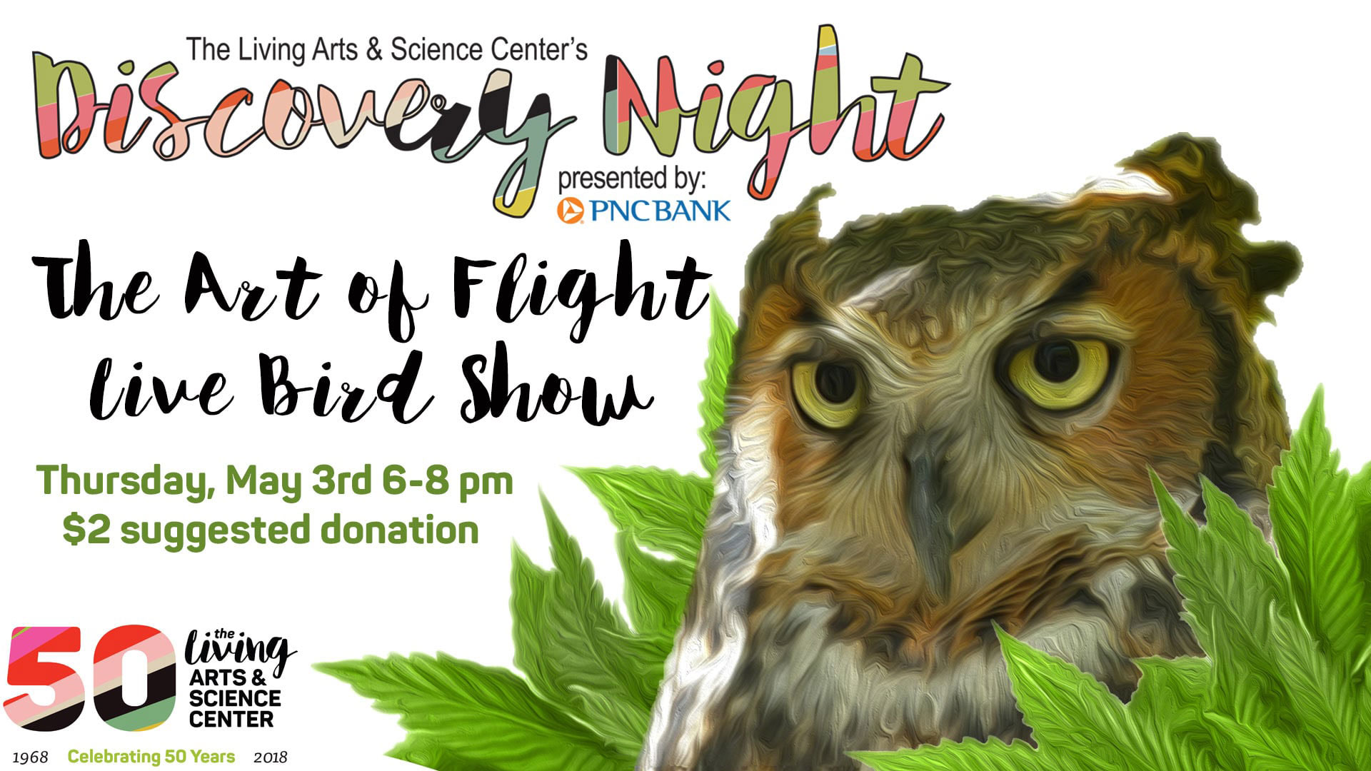 Discovery Night: The Art of Flight, Live Bird Show