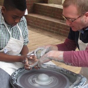 Family Fun Day Pottery Wheel