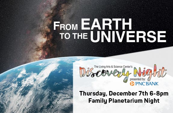 DISCOVERY NIGHT: Family Planetarium Night