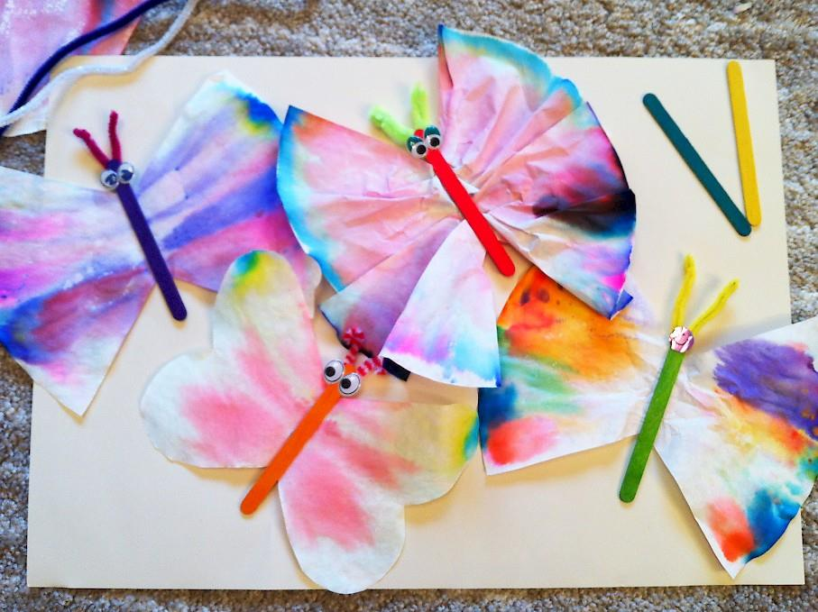 Make Your Own Chromatography Butterfly