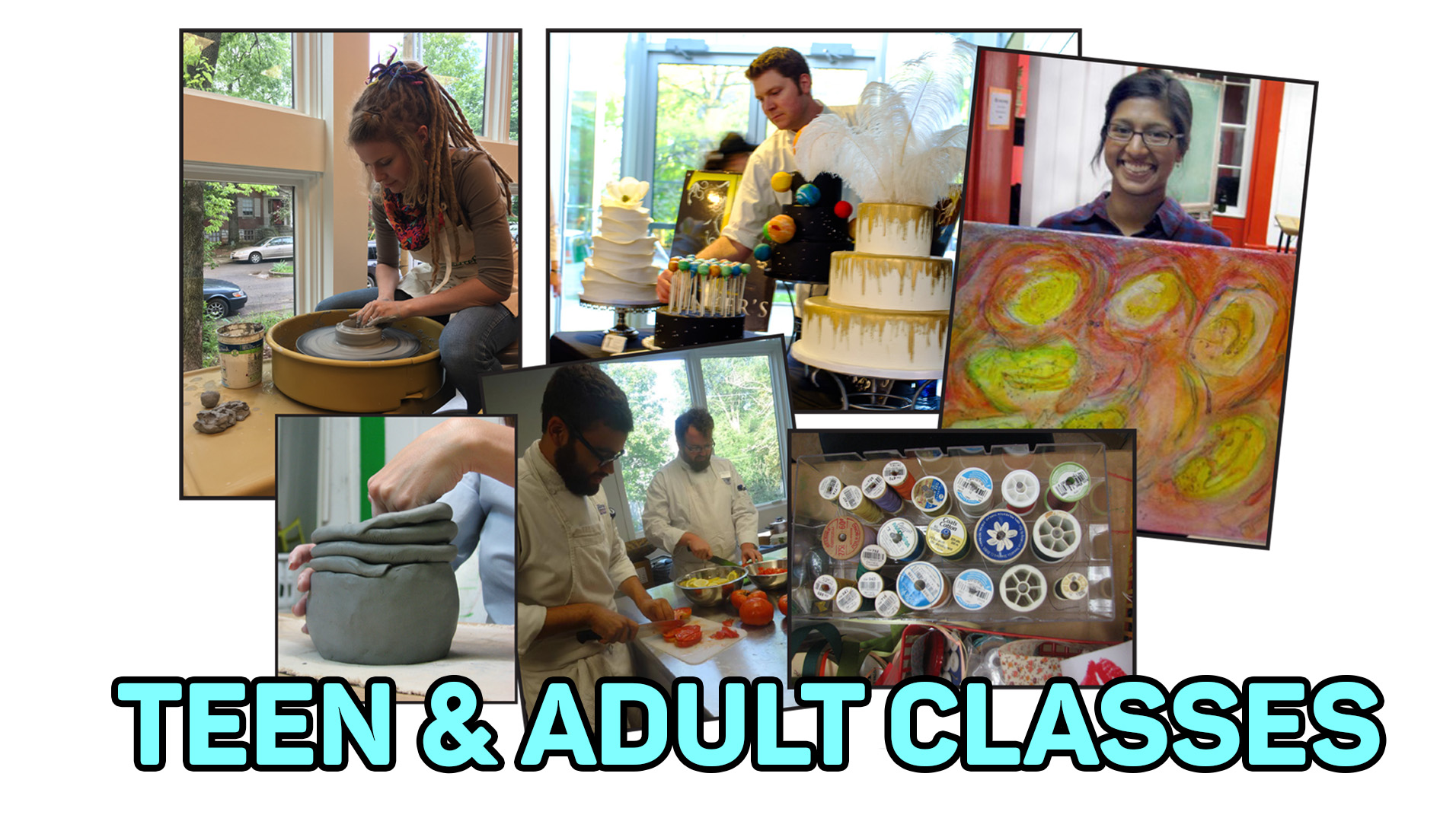 Adult Classes & Professional Development