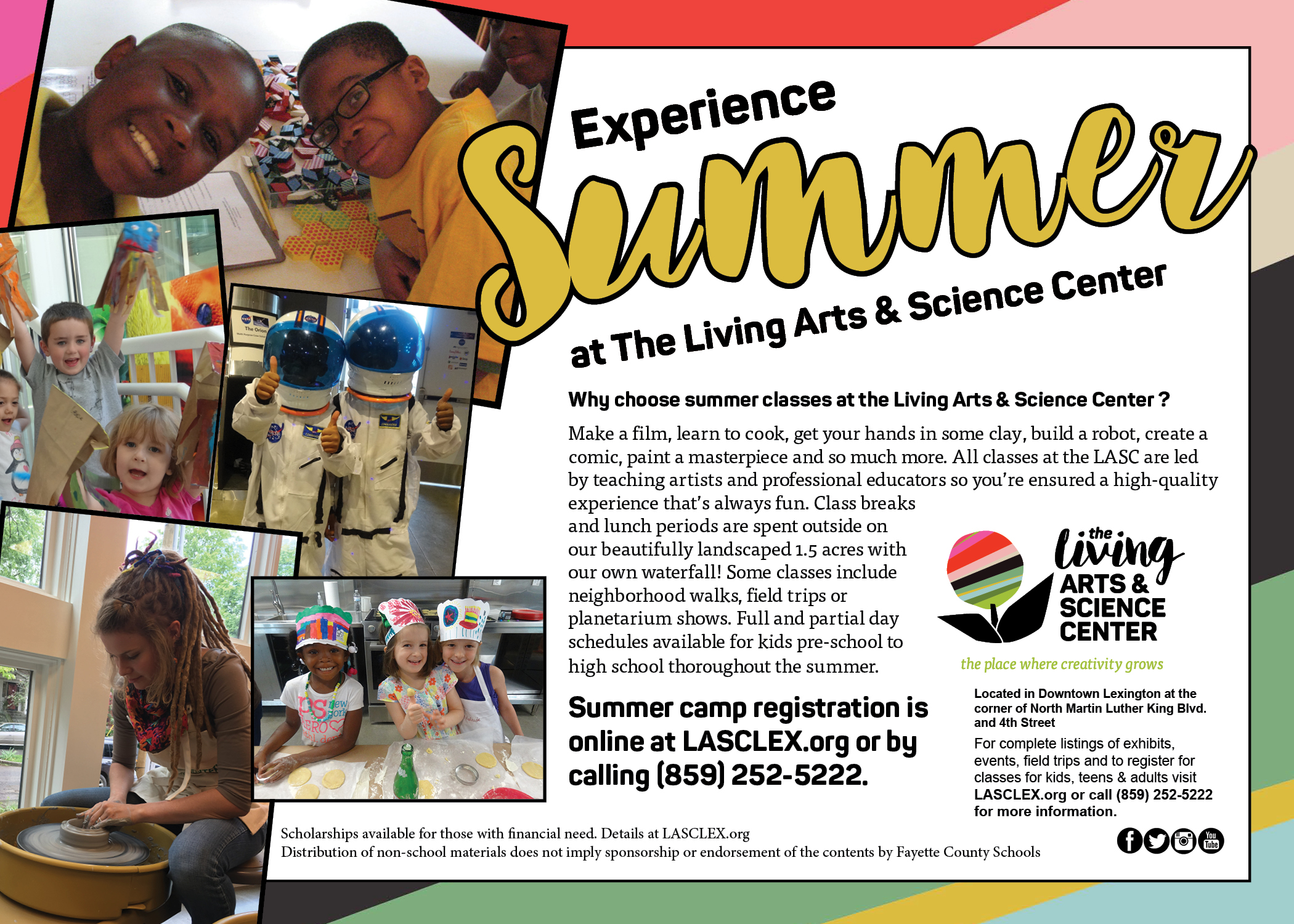 Experience Summer at the LASC