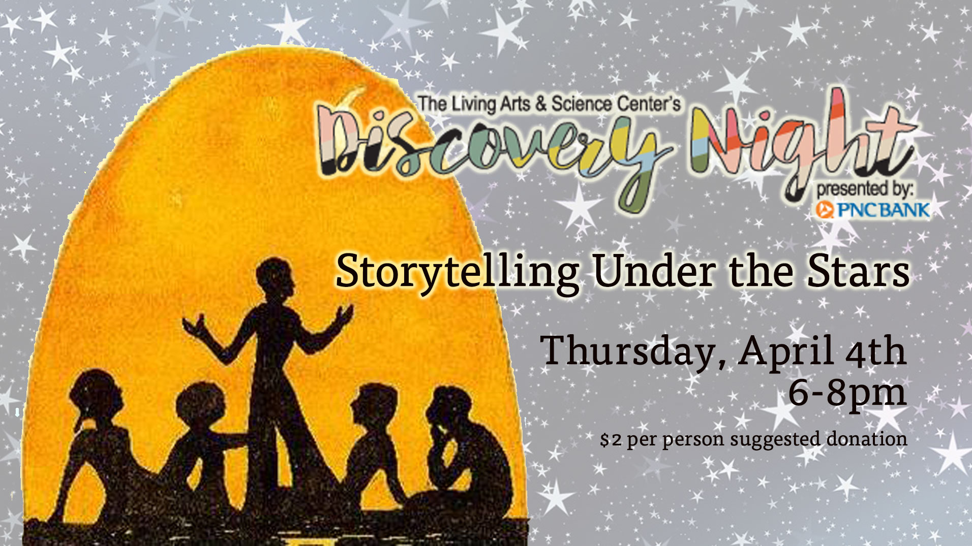 Discovery Night: Storytelling Under The Stars