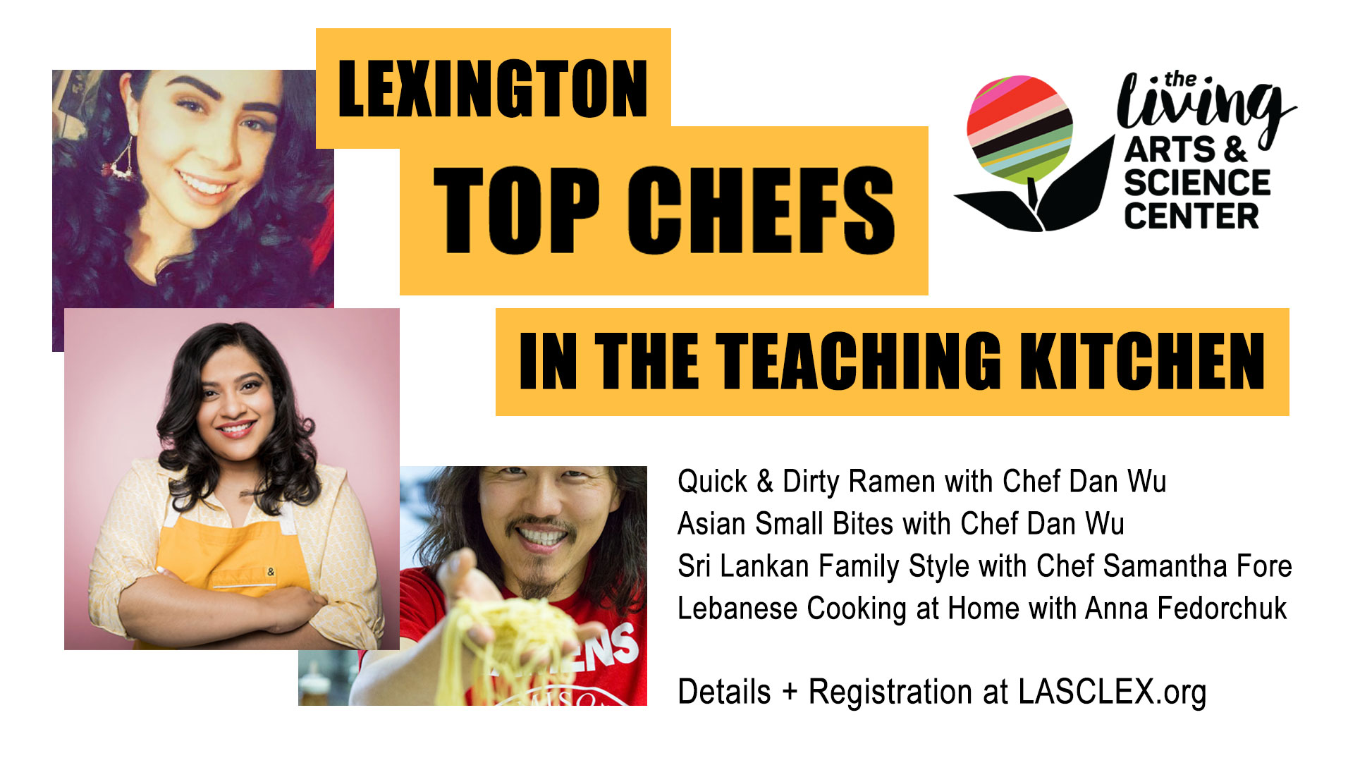 Lexington Top Chefs In The Teaching Kitchen