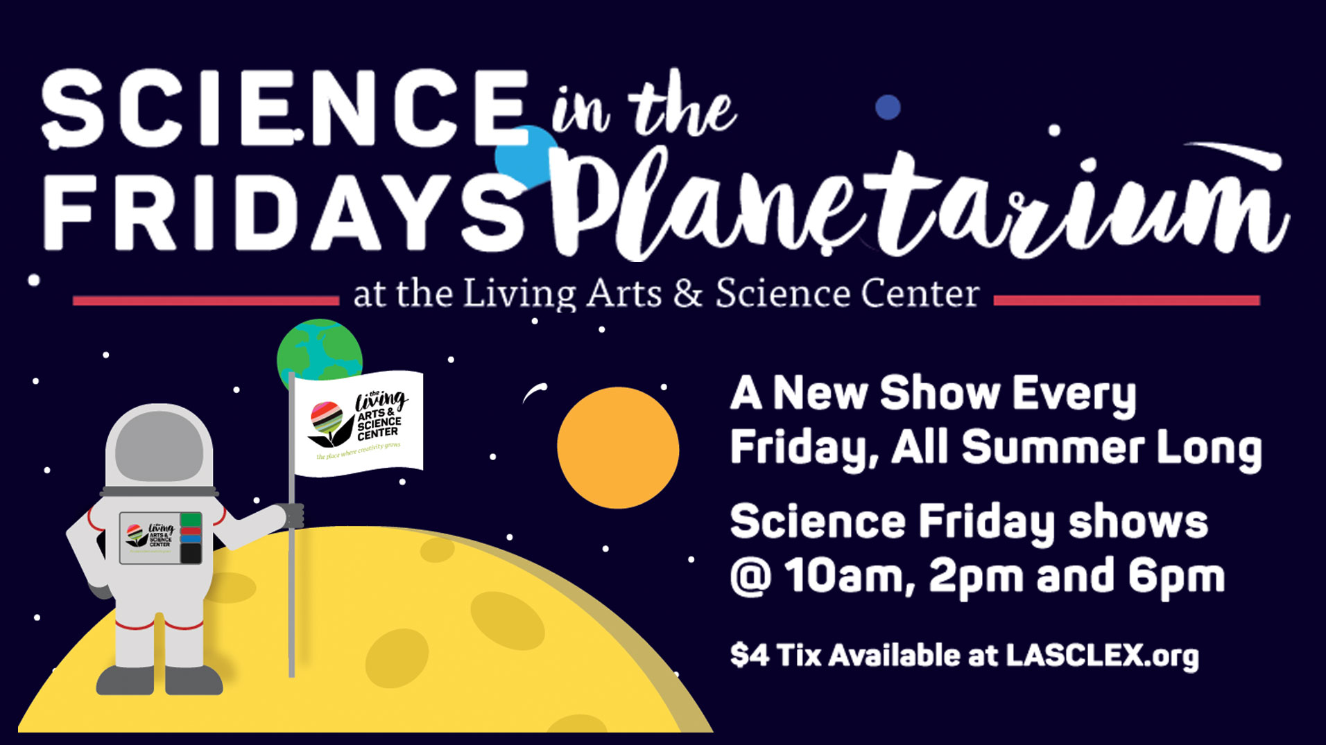 Science Fridays in the Planetarium