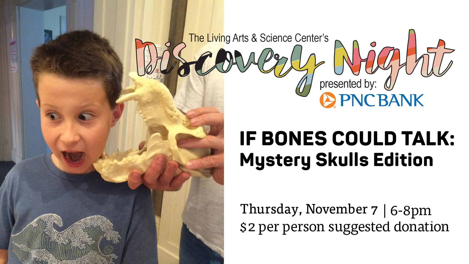 Discovery Night – If Bones Could Talk: Mystery Skulls Edition